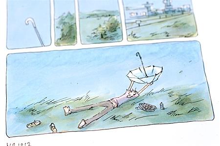 『センネン画報』原画より ©今日マチ子
