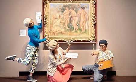 珍しいキノコ舞踊団と行く『印象派と世紀末美術』展