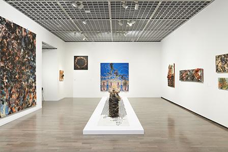 『あなたの肖像―工藤哲巳回顧展』展示風景 ©ADAGP, Paris & JASPAR, Tokyo, 2013