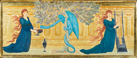 エドワード・バーン=ジョーンズ『ヘスペリデスの園』