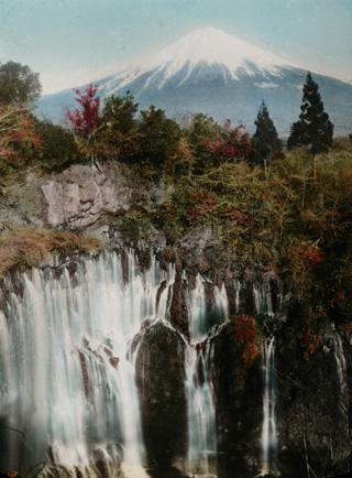 高木庭次郎『白糸からの富士山』1910年代