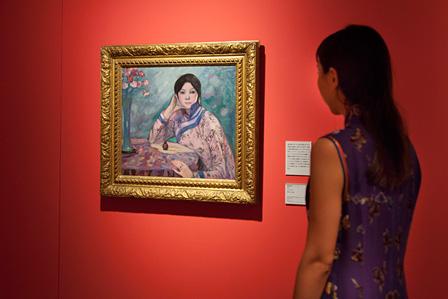 藤島武二『匂い』1915年 東京国立近代美術館蔵