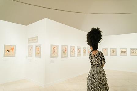『ロスタの窓』展示風景