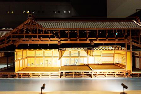 模型「江戸城本丸大広間・松の廊下・白書院」(復元年代:19世紀中期 縮尺:1/30)