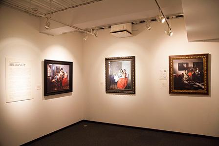 「遠近法」というテーマにそって展示された作品群