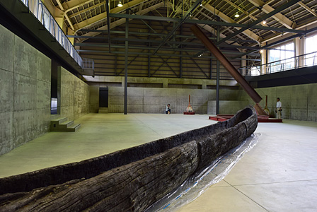 清津倉庫美術館 展示風景 改修設計:山本想太郎