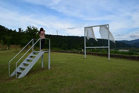 『大地の芸術祭 越後妻有アートトリエンナーレ』 内海昭子『たくさんの失われた窓のために』