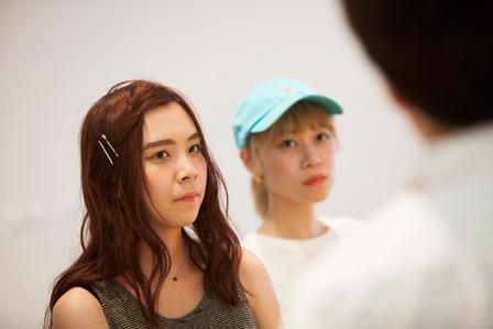 左から:Pi、Mina Ohmatsu