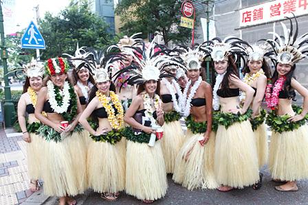 タヒチアンダンスグループ「Hau Purotu Ori」