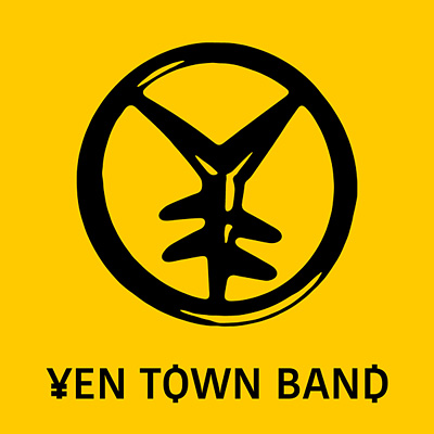 岩井俊二がデザインした新しいYEN TOWN BANDのロゴ