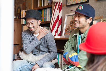 左から:CHITO、AFRA