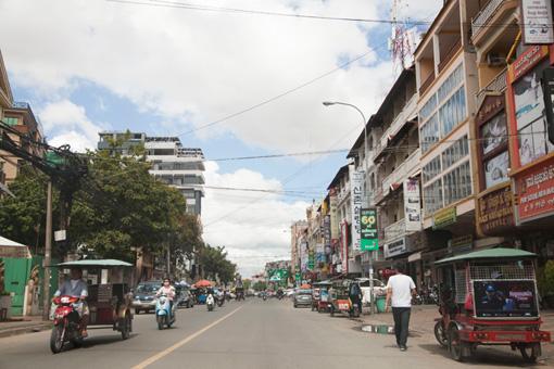 カンボジア プノンペン市内
