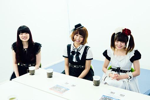 左から:MISA、廣瀬茜、小鳩ミク