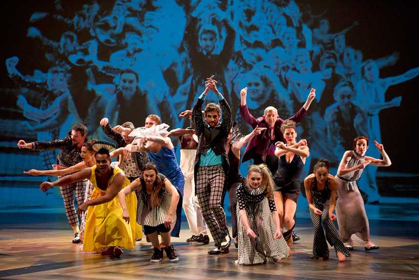 オリンピック開閉会式の演出家ドゥクフレの美しくも奇天烈な舞台