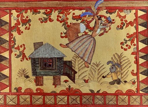 キャラクターデザインは、妻で美術監督のヤールブソワとともに民衆芸術を参考にして考えたという / 『キツネとウサギ』 ©2016 F.S.U.E C&P SMF