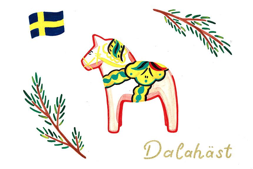『北欧おみやげ雑貨図鑑』 北欧3か国の暮らしを彩る雑貨を紹介