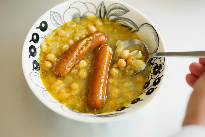 北欧の伝統料理を日本風に簡単アレンジ。断食が生んだ豆スープ