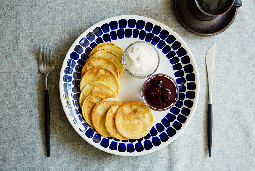 北欧のおやつ&休息習慣「フィーカ」を体験するパンケーキレシピ