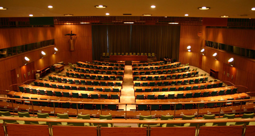 「ニューヨーク国連本部 信託統治理事会会議場」