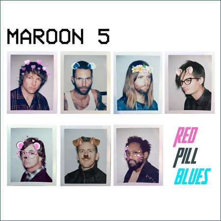 Maroon 5『Red Pill Blues』ジャケット