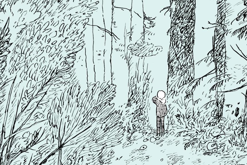 漫画家、佐々木充彦がバイオハックの未来を描く『おばけの森』
