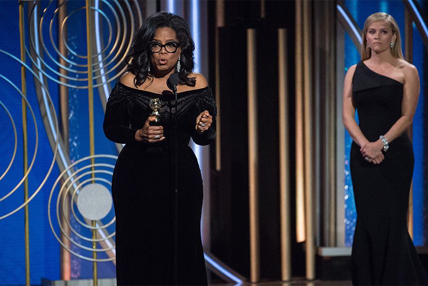 ゴールデン・グローブ賞でスターの衣装を「黒」に染めた「TIME'S UP」とは?