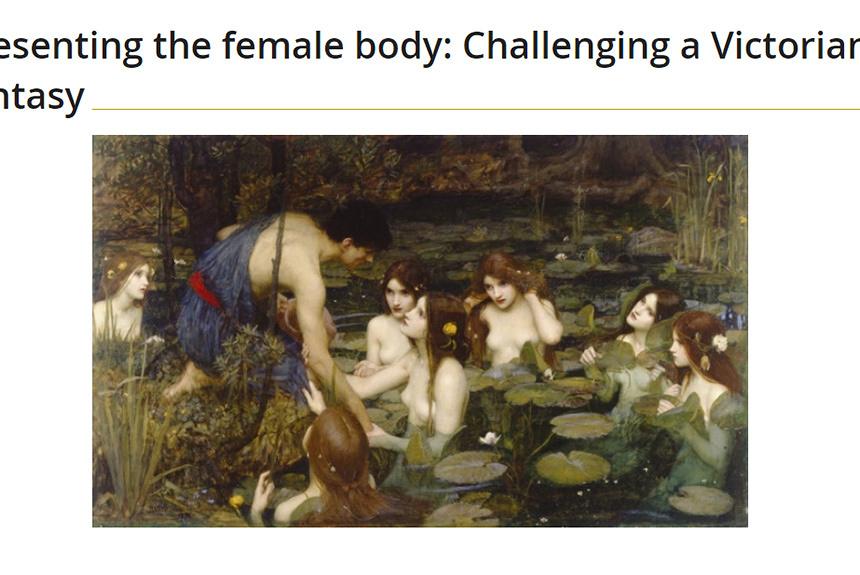 英美術館が裸婦の絵画を一時撤去、「賛否両論」も作品の一部だった?
