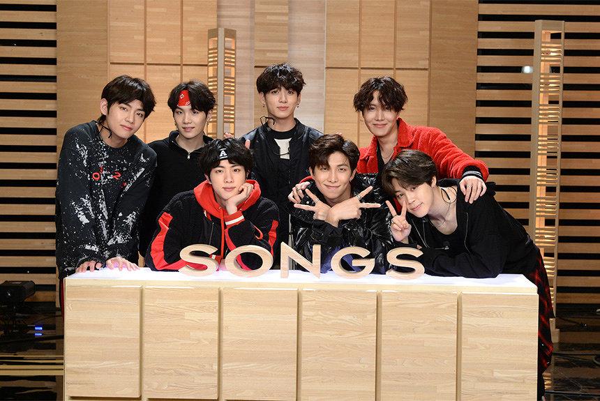 BTS(防弾少年団)が『SONGS』初出演 アメリカで快進撃続ける7人組
