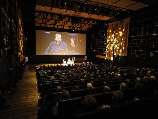 ブラック・ダイヤモンドで行われた『Dreaming Murakami』のトークイベント