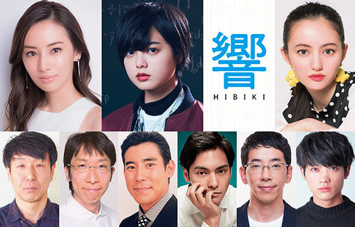 『響 -HIBIKI-』キャスト ©2018映画「響 -HIBIKI-」製作委員会 ©柳本光晴/小学館
