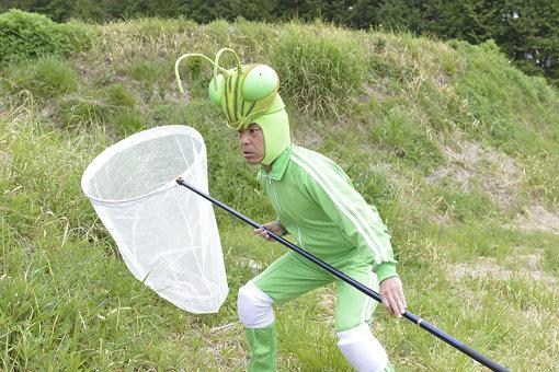 新作でクマバチ捕獲に挑む香川照之