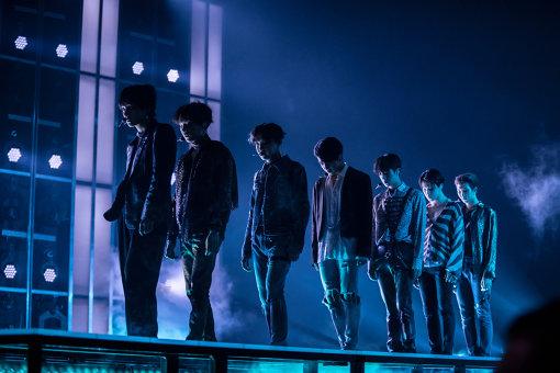 BTS(防弾少年団)は5月20日に『2018 ビルボード・ミュージック・アワード』に登場し、新曲を世界初披露した ©BBMA2018 / dcp