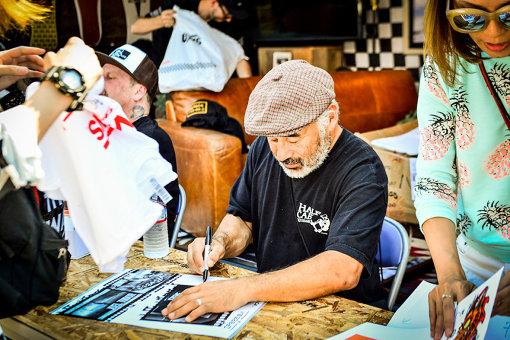 『GREENROOM FESTIVAL'17』に来日したVANSレジェンドスケーター Steve Caballero