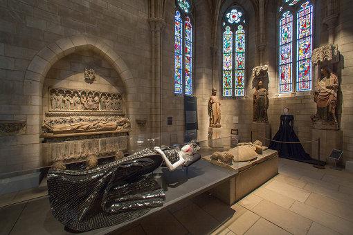 美術館内展示風景  Gallery View, Gothic Chapel. Image: © The Metropolitan Museum of Art