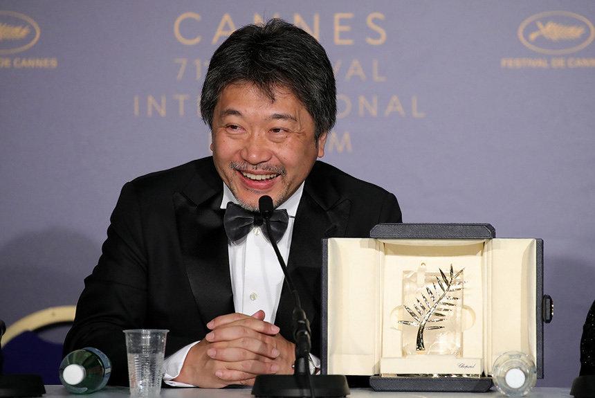 『万引き家族』カンヌでパルムドール受賞、リリーや安藤サクラが喜び語る