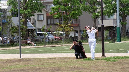 ファーッ! 傘ゴルフ選手権はすべてエアーで進むのでとりあえずファーなどのやりたいことは全部やります。