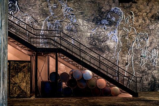 鋳造工場だったかつての趣を残す館内 ©Culturespaces / E. Spiller