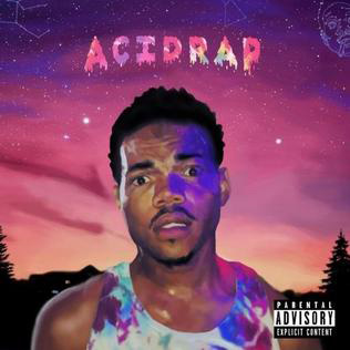 チャンス・ザ・ラッパーの2014年のミックステープ『Acid Rap』ジャケット