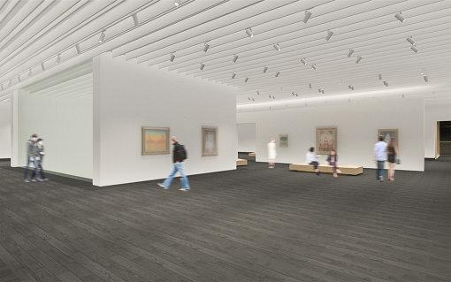 アーティゾン美術館5階展示室イメージ