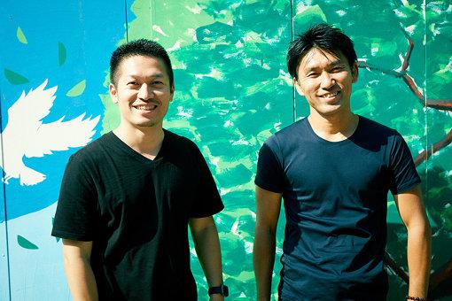 左から:稲田雅彦、唐川靖弘