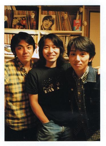 サニーデイ・サービス(左から:田中貴、曽我部恵一、丸山晴茂)zoom