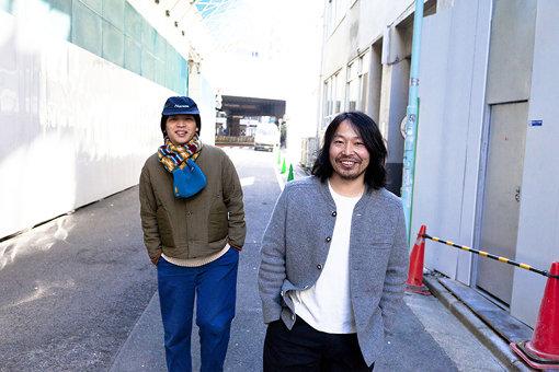 夏目知幸と曽我部恵一による、2016年2月公開の対談より / 撮影:田中一人