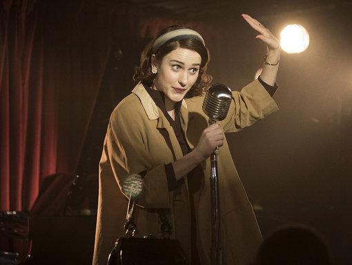 ミッジは当時の女性としてはタブーとされるようなトピックも臆することなくネタにしてステージで披露する