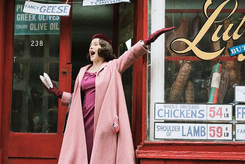 NYの主婦がコメディエンヌに エミー賞5冠『マーベラス・ミセス・メイゼル』