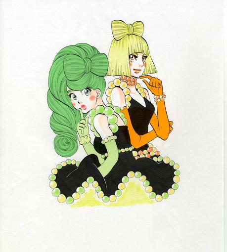 東村アキコ『海月姫』2008年~2017年 ©Akiko Higashimura / Kodansha Ltd.