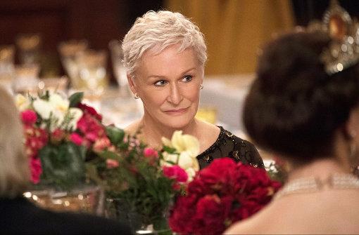 『天才作家の妻 -40年目の真実-』で主演女優賞を受賞したグレン・クローズ ©META FILM LONDON LIMITED 2017