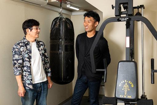 左より:横井昭裕(株式会社ウィズ代表取締役社長)、唐川靖弘(EdgeBridge LLC代表 / うろうろアリ・インキュベーター)