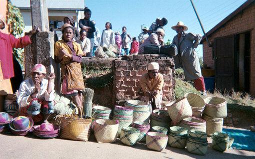 「Found MUJI」#252 マダガスカル「世界のかご」