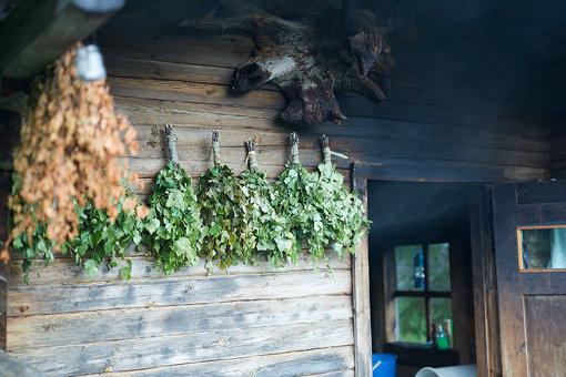 フィンランドの伝統的なサウナ「スモークサウナ」/ 企画展「Suomi Finland」より