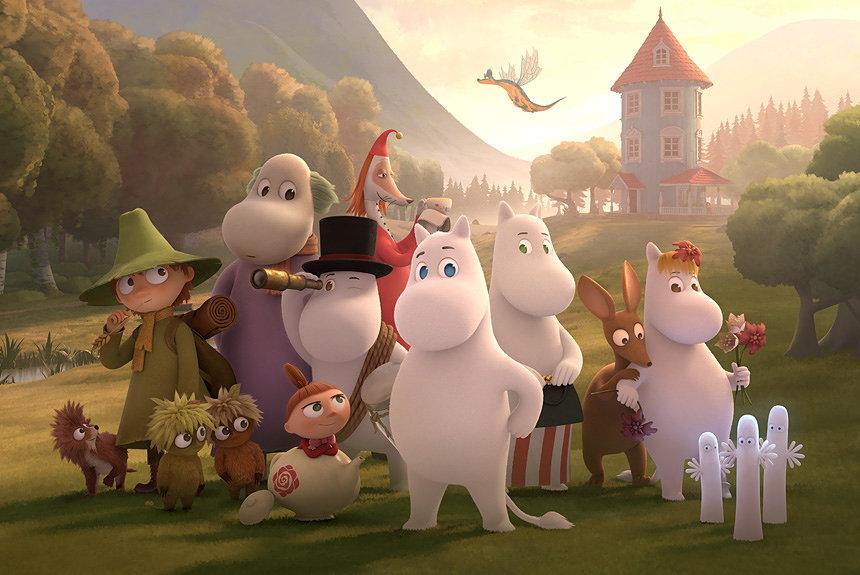 アニメ『ムーミン谷のなかまたち』BS4Kで4月開始。声優陣に高橋一生も